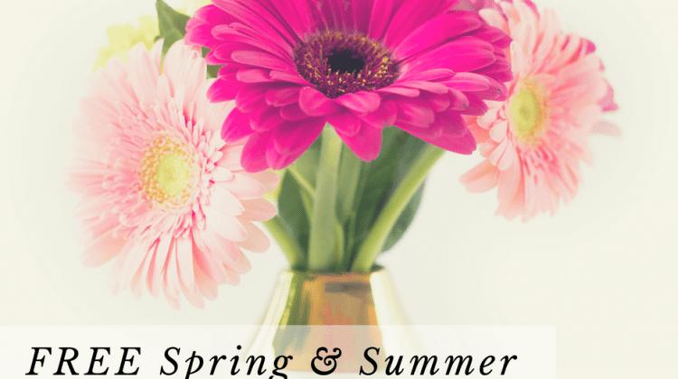 Free Spring & Summer Marketing Plan