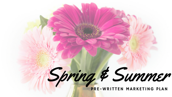 Free Spring & Summer Marketing Plan
