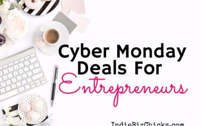 Cyber Monday Deals For Entrepreneurs