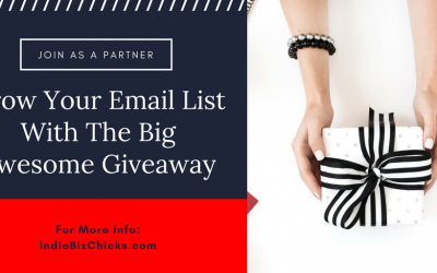 Join Me As A Partner In The Big Awesome Giveaway!