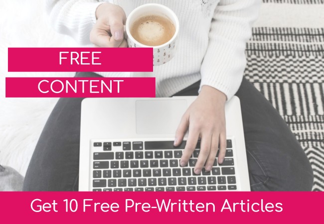 Free Ready To Use Content Article Pack