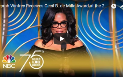 Oprah's Golden Globes Speech – How To Give An Awesome Speech
