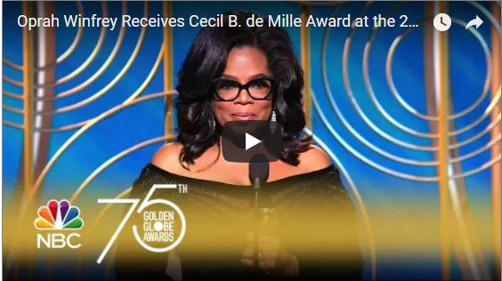 Oprah's Golden Globes Speech – How To Give An Awesome Speech